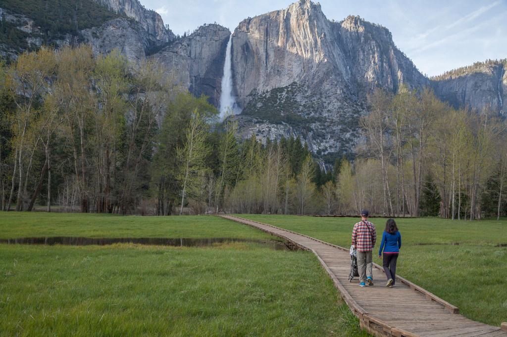 Waterfalls are roaring this spring at Yosemite