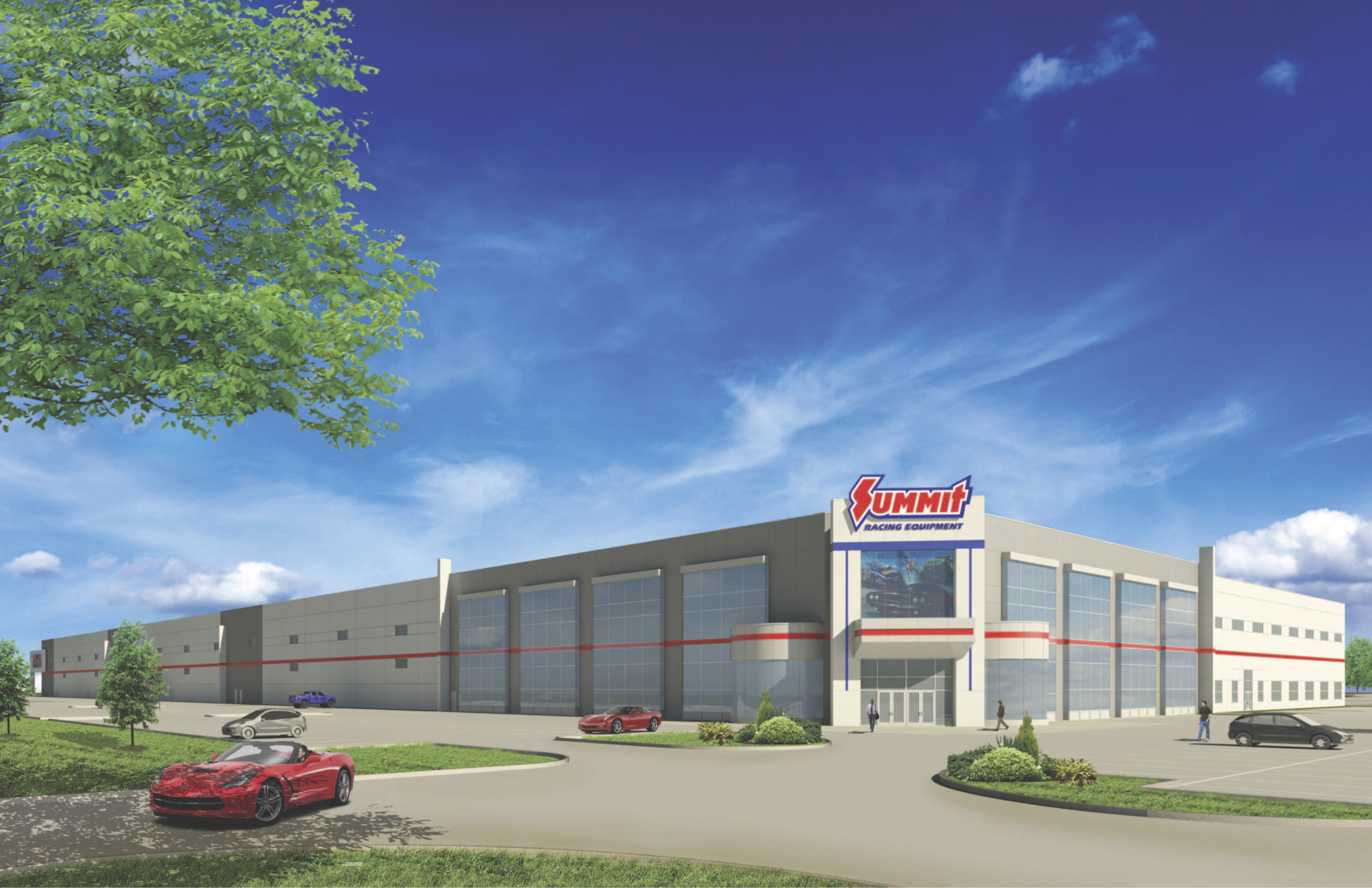Summit racing zooms into Arlington with 700,000-square-foot