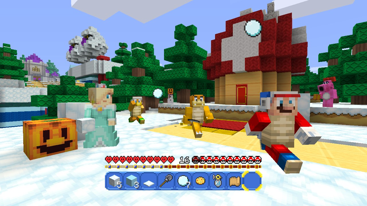Minecraft' finally has an official 'Super Mario Bros ' add-on