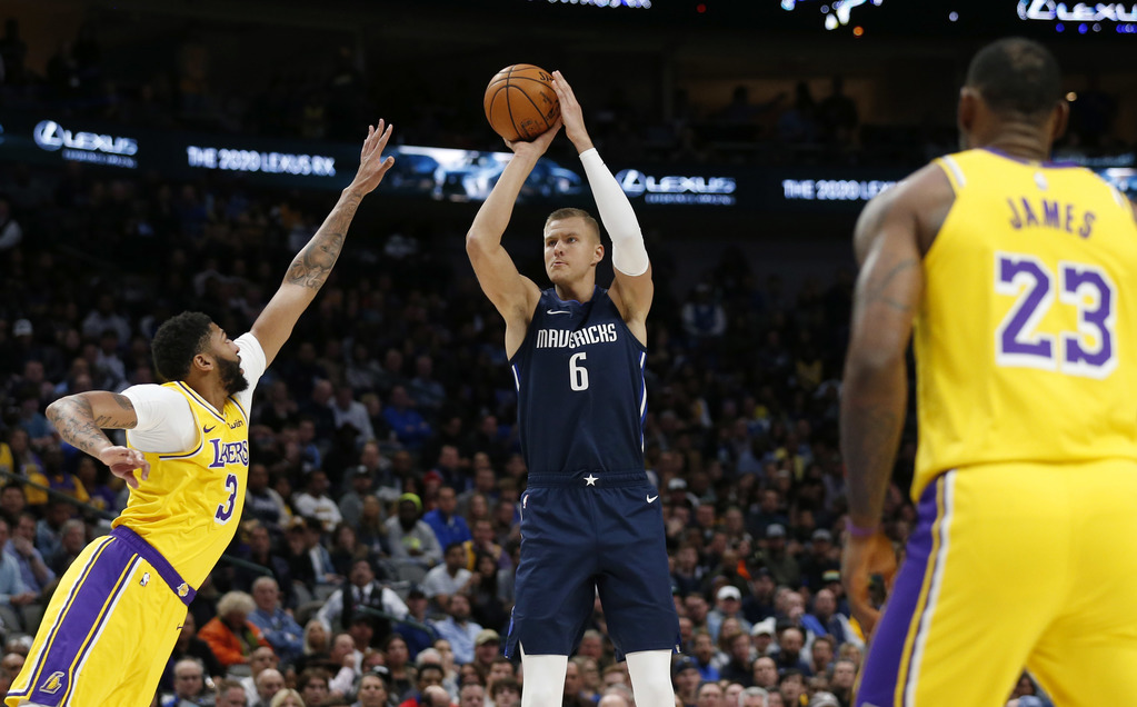 Rematch With Lakers Is As Much A Showcase For Mavs