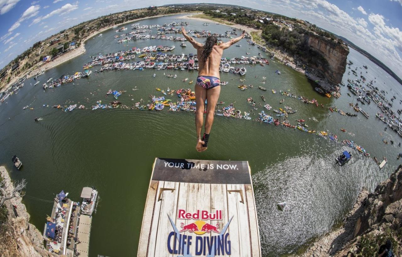 Serie mundial de clavados Red Bull llega a Texas
