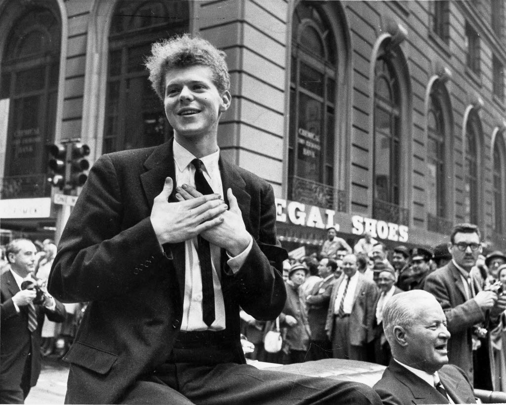 Sixty years after Van Cliburn triumphed in Moscow, a writer